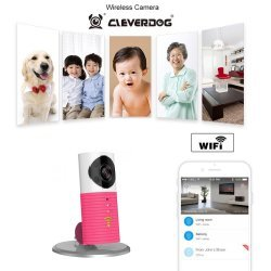 Baby monitor wireless audio video IP pink