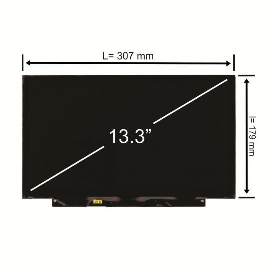 Display laptop Chimei InnoLux 13.3 inch HD 30 pini Led Slim
